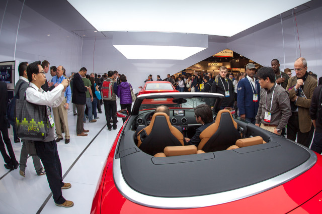 CES 2014, Audi booth