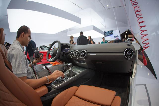 2014 Audi TT interior